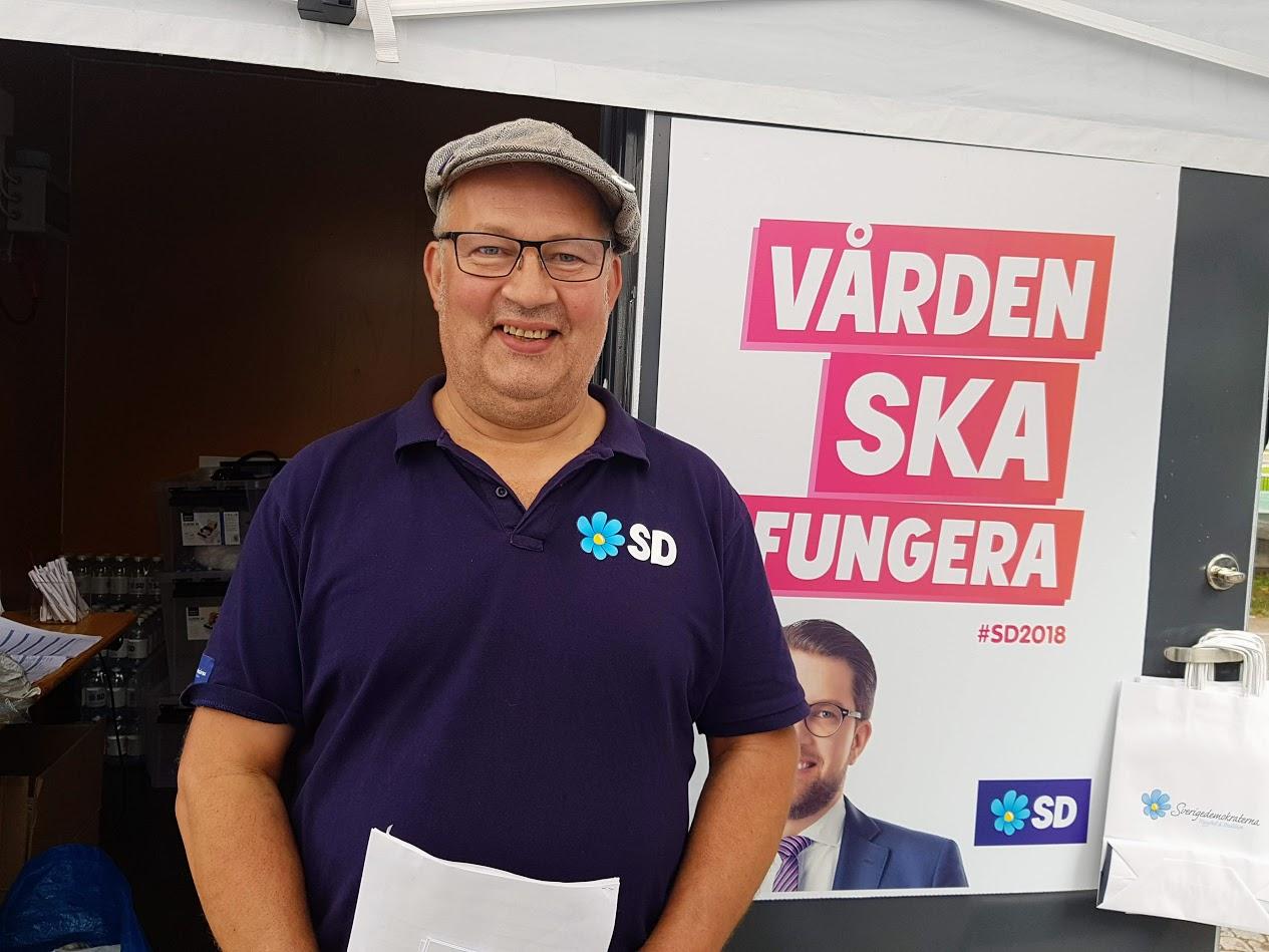 Sverigedemokraternas politik på en minut