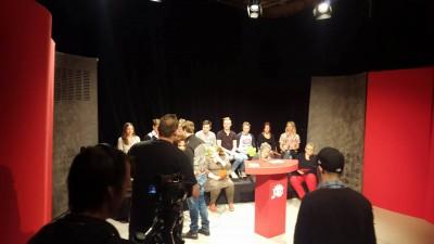 Bild från inspelningen