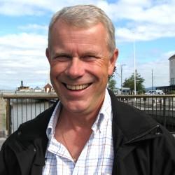 Kjell Nordén, skötare och psykoterapeut anställd inom kommunen i behandlingsverksamheten Alternativ till Våld